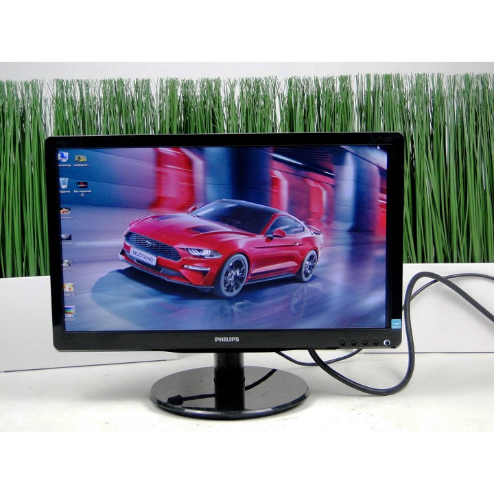 "Монитор 18.5"" PHILIPS 196V4L TN+film Widescreen Black"