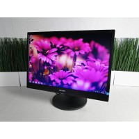 "Монитор 22"" PHILIPS 220S4L TN+film Widescreen Black CLASS B"