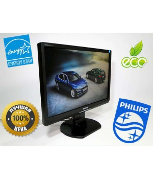 "Монитор 19"" Philips Brilliance 190S1SB ECO S-Line DVI Black"
