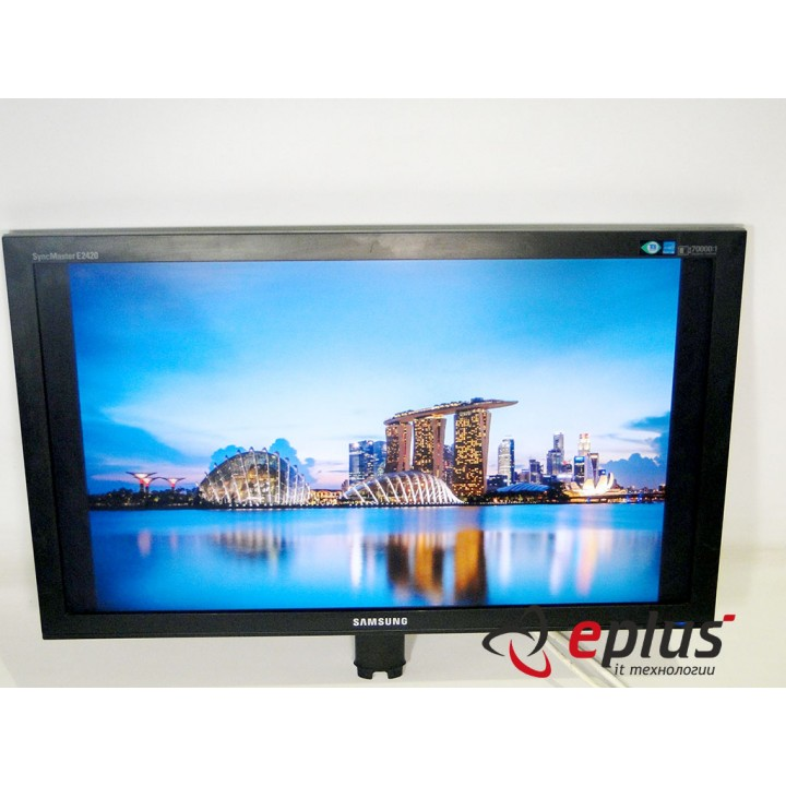 Монитор 24'' SAMSUNG E2420 TN+film Widescreen Black