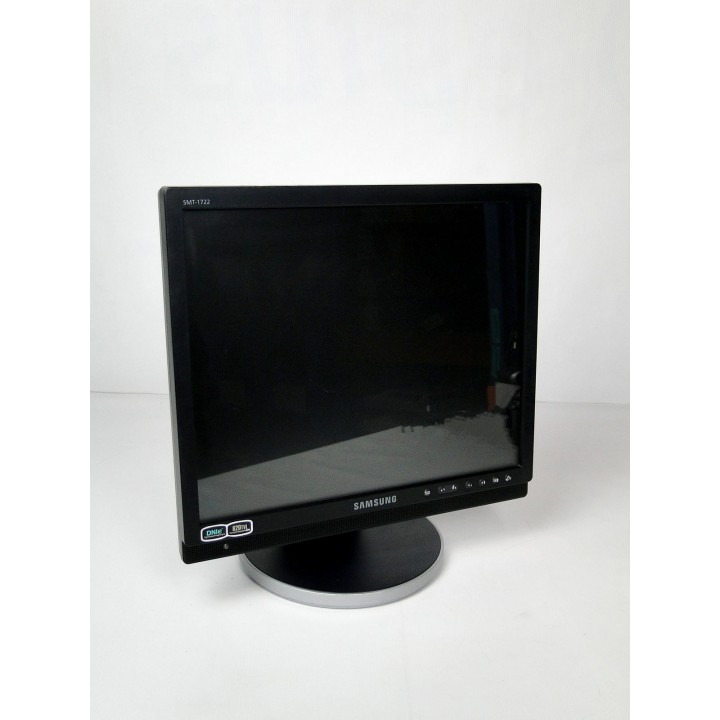 """Монитор 17"""" SAMSUNG SMT-1722P TN 4x3 Black (для видеонаблюдения)"""