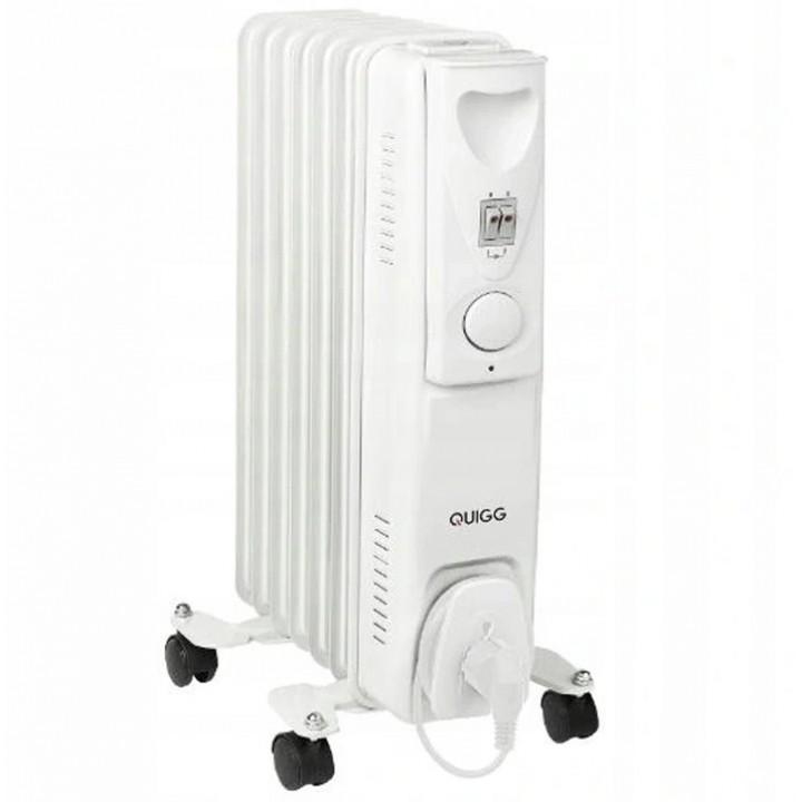 Обогреватель радиатор масляный Quigg AOR7Q 1500W (Германия)