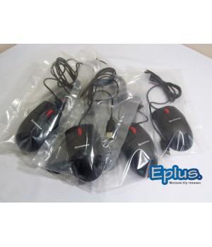 Мышь Lenovo MO28UOL, черная (оптическая, USB) Б/у