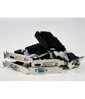 Видеокарта ATI RADEON HD5450 / HDMI / DVI / VGA / 1 GB Б/у